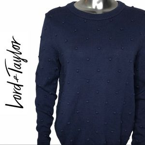 Lord & Taylor Long Sleeve Crew Neck Sweater